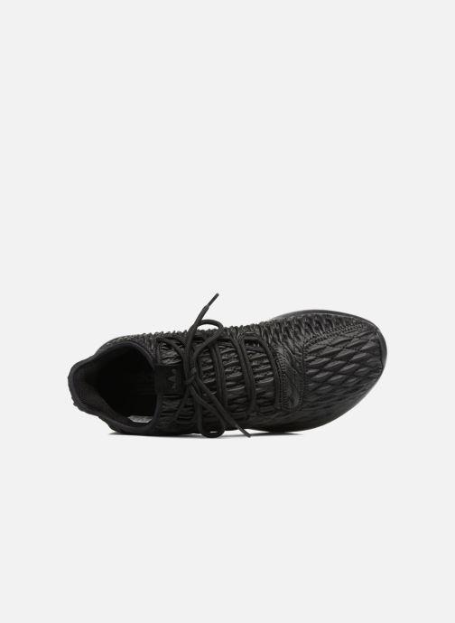 Sneaker Adidas Originals Tubular Shadow schwarz ansicht von links