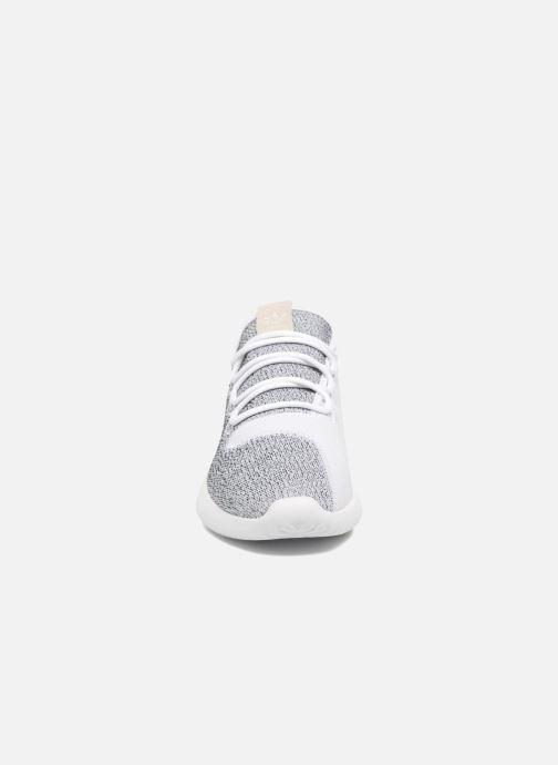 Sneaker adidas originals Tubular Shadow grau schuhe getragen