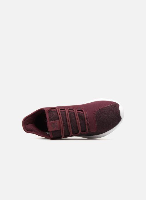 Sneaker Adidas Originals Tubular Shadow weinrot ansicht von links