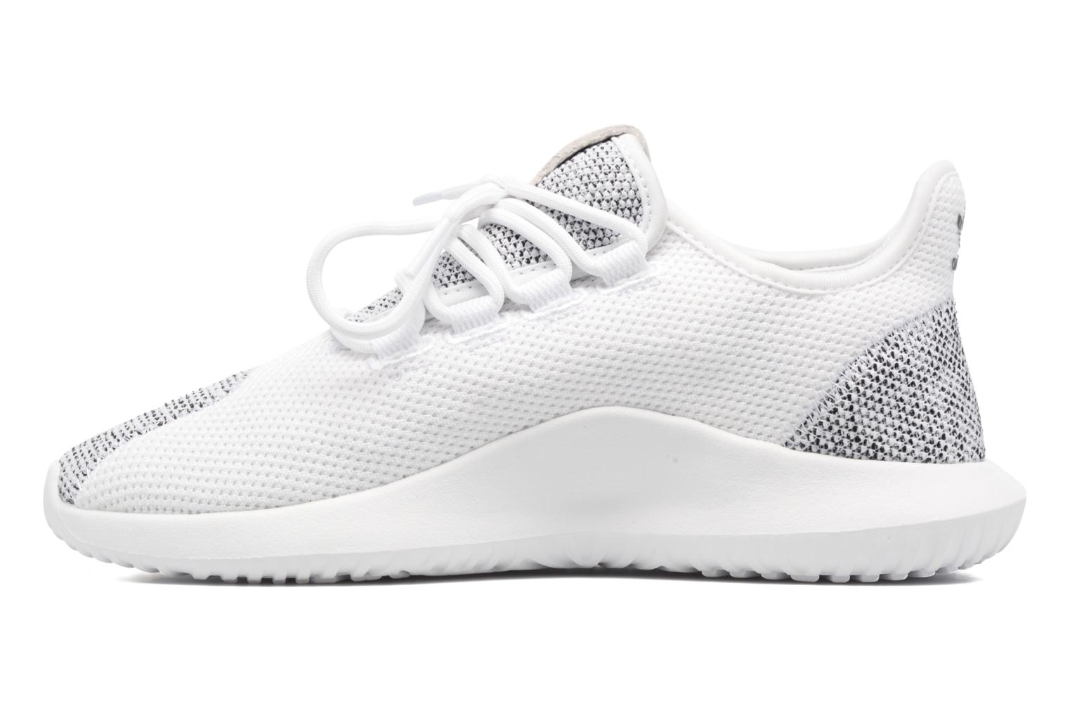 Baskets Adidas Originals Tubular Shadow Knit W Blanc vue face