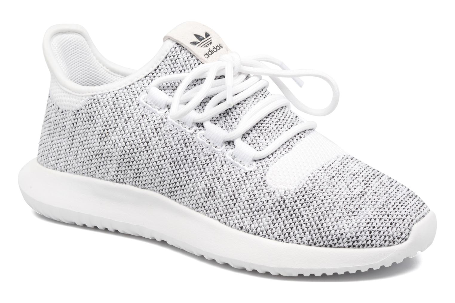 Baskets Adidas Originals Tubular Shadow Knit W Blanc vue détail/paire