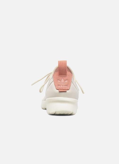 Sneakers adidas originals Zx Flux Adv Virtue Sock W Beige immagine destra