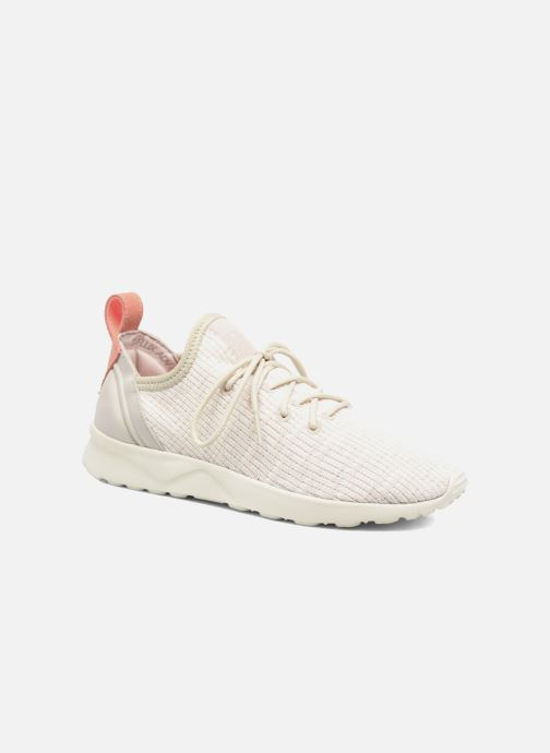 84a0bee06f3e8 adidas originals Zx Flux Adv Virtue Sock W (Beige) - Trainers chez ...