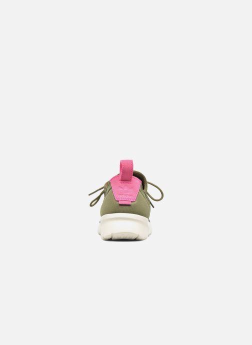 Baskets adidas originals Zx Flux Adv Virtue Sock W Gris vue droite