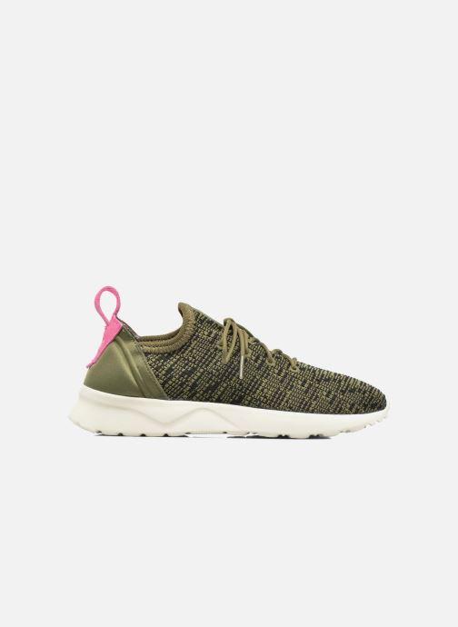Sneaker adidas originals Zx Flux Adv Virtue Sock W grau ansicht von hinten