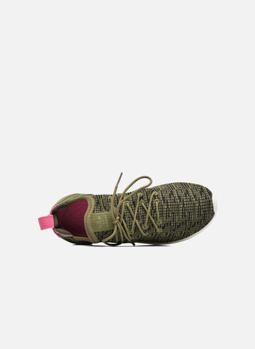 Baskets adidas originals Zx Flux Adv Virtue Sock W Gris vue gauche