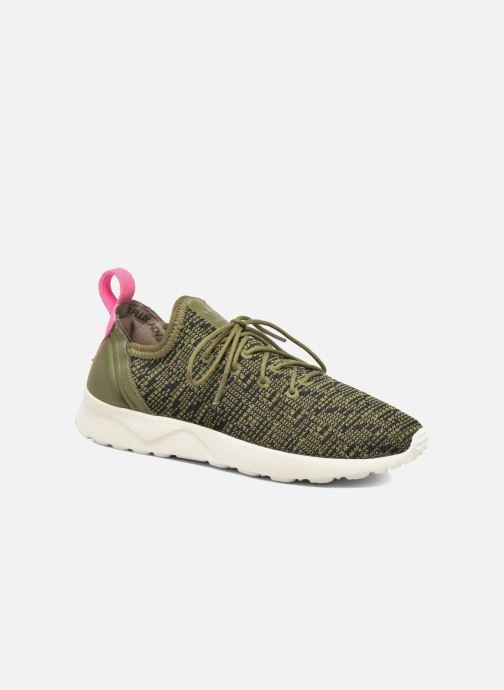 Sneakers adidas originals Zx Flux Adv Virtue Sock W Grijs detail