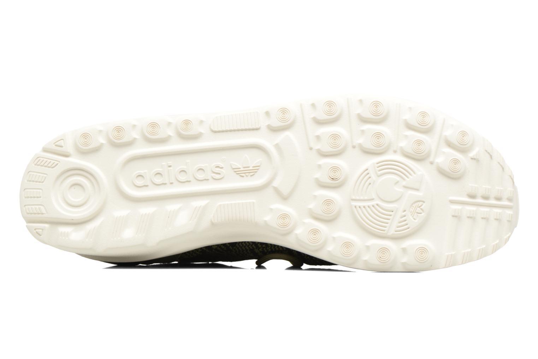 Baskets Adidas Originals Zx Flux Adv Virtue Sock W Gris vue haut