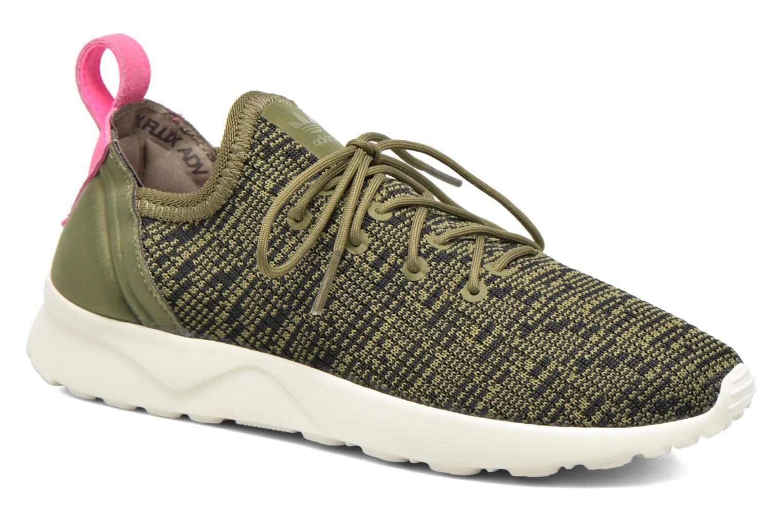 Baskets Adidas Originals Zx Flux Adv Virtue Sock W Gris vue détail/paire