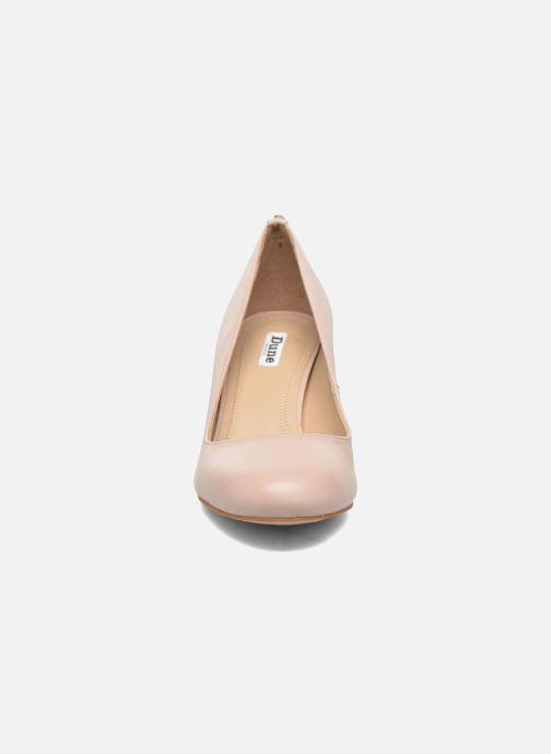 Escarpins Dune London Atlas Rose vue portées chaussures