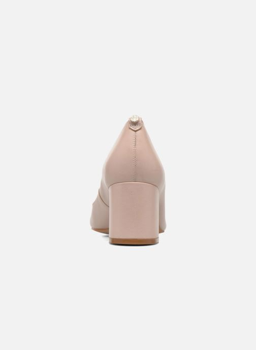 High heels Dune London Atlas Pink view from the right