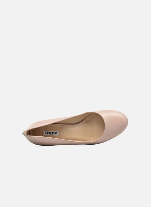 High heels Dune London Atlas Pink view from the left