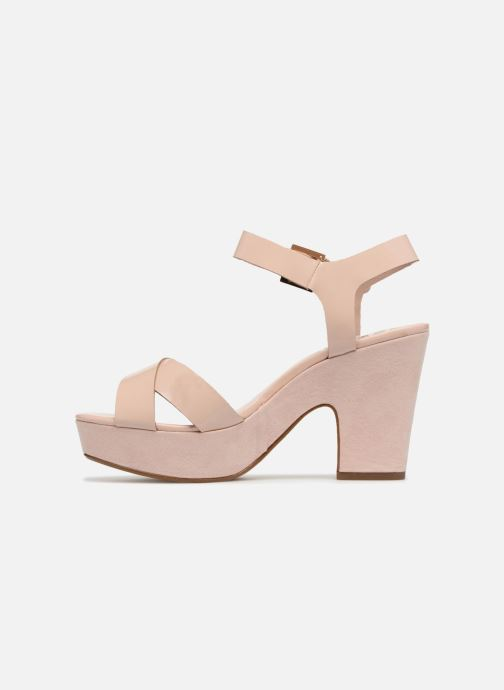 Sandales et nu-pieds Dune London Iyla Beige vue face