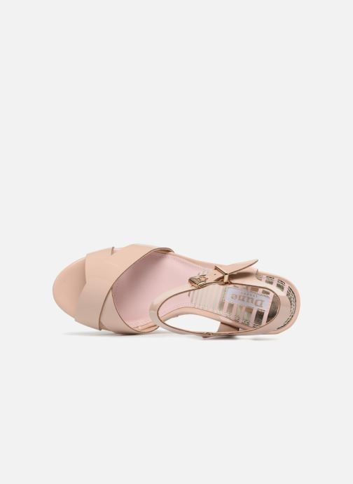 Sandalen Dune London Iyla beige ansicht von links