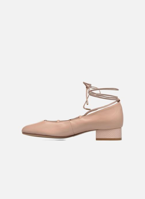Ballerines Dune London Ballay Rose vue face