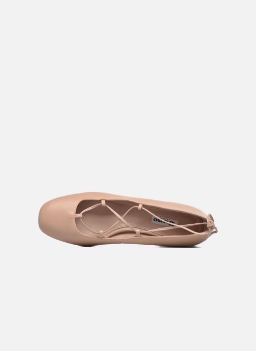 Ballerines Dune London Ballay Rose vue gauche