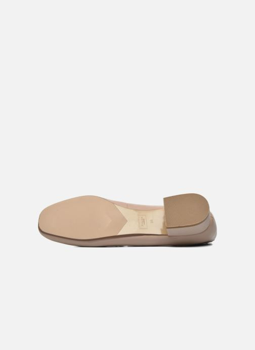 Ballerines Dune London Ballay Rose vue haut