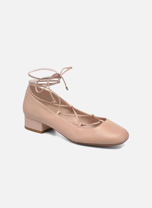 Ballerines Dune London Ballay Rose vue détail/paire