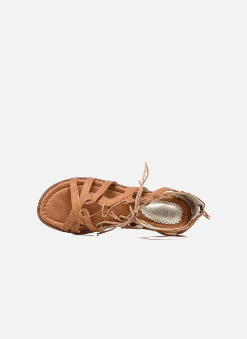 Sandales et nu-pieds I Love Shoes SUMINIGLI Marron vue gauche