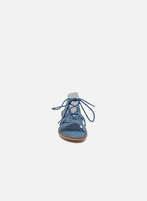 Sandali e scarpe aperte I Love Shoes SUMINIGLI Azzurro modello indossato