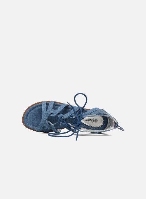 Sandales et nu-pieds I Love Shoes SUMINIGLI Bleu vue gauche