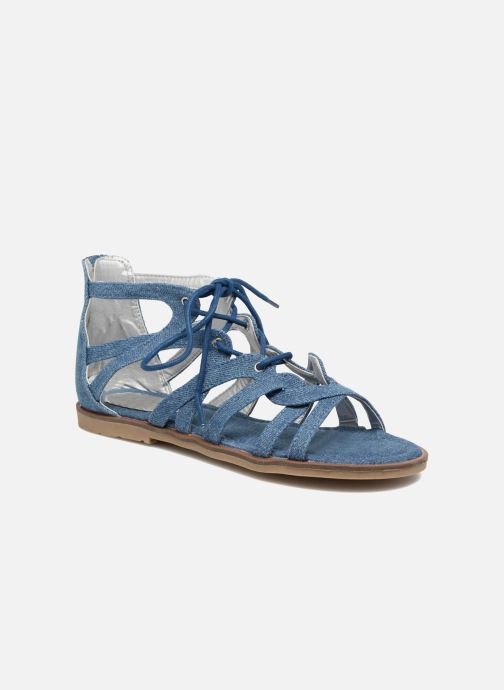 Sandals I Love Shoes SUMINIGLI Blue detailed view/ Pair view