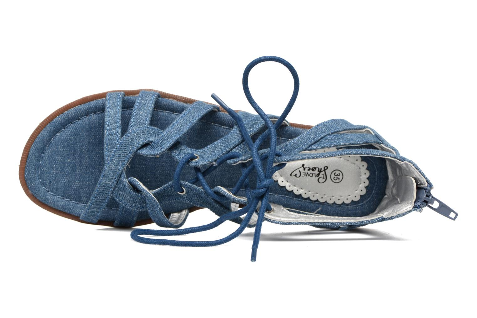 Sandalen I Love Shoes SUMINIGLI Blauw links