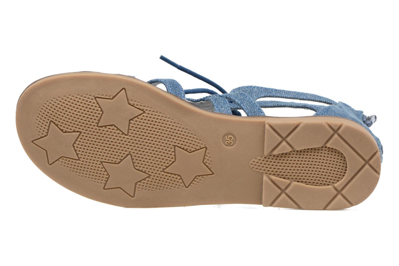 Sandales et nu-pieds I Love Shoes SUMINIGLI Bleu vue haut