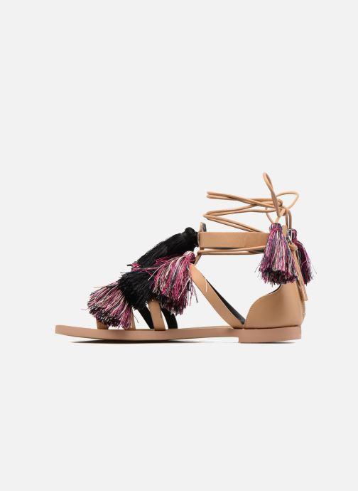 Sandales et nu-pieds Rebecca Minkoff Elisha Beige vue face
