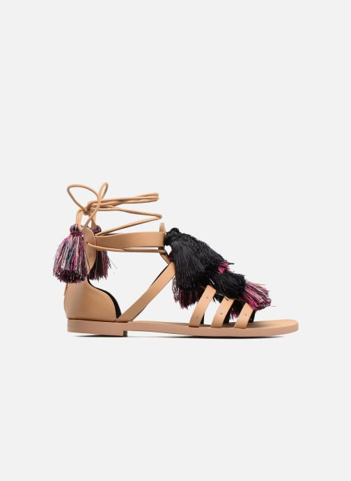 Sandales et nu-pieds Rebecca Minkoff Elisha Beige vue derrière