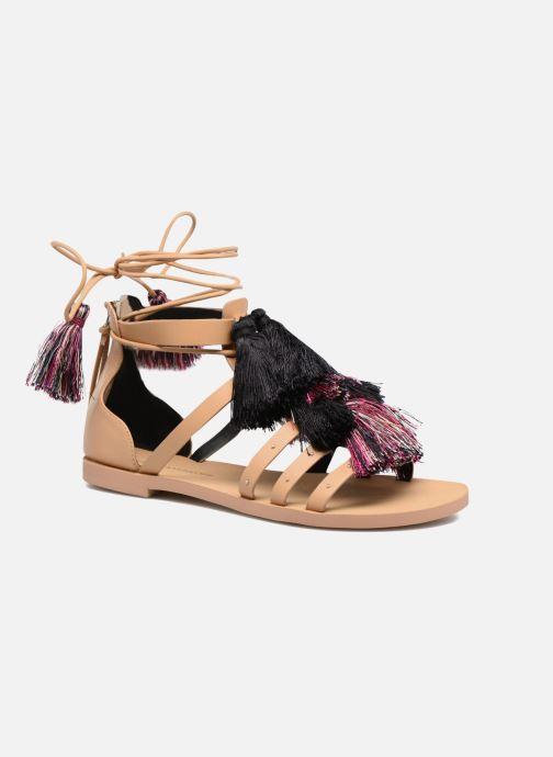 Sandales et nu-pieds Rebecca Minkoff Elisha Beige vue détail/paire