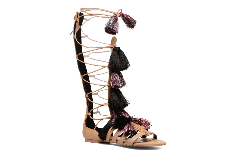 Sandales et nu-pieds Rebecca Minkoff Eve Beige vue détail/paire