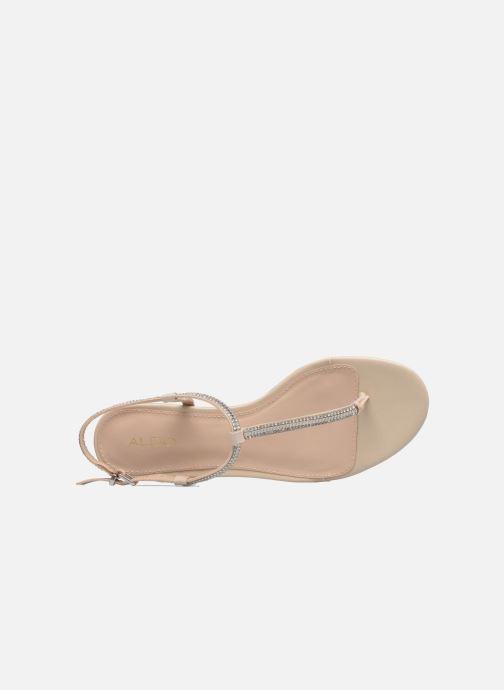 Sandales et nu-pieds Aldo DIAMANTE Beige vue gauche