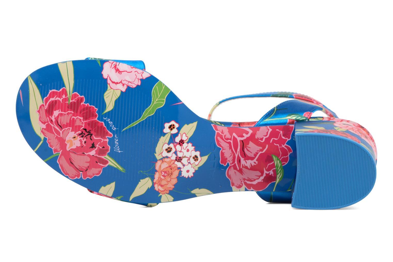 Sandales et nu-pieds Aldo LOLLA Bleu vue haut