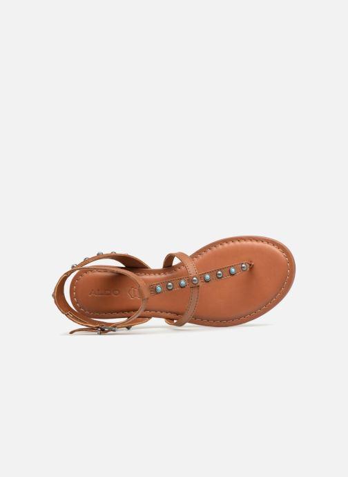 Sandales et nu-pieds Aldo CAREEN Marron vue gauche