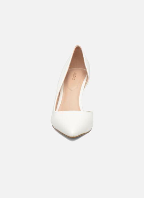 Escarpins Aldo ECIDIA Blanc vue portées chaussures