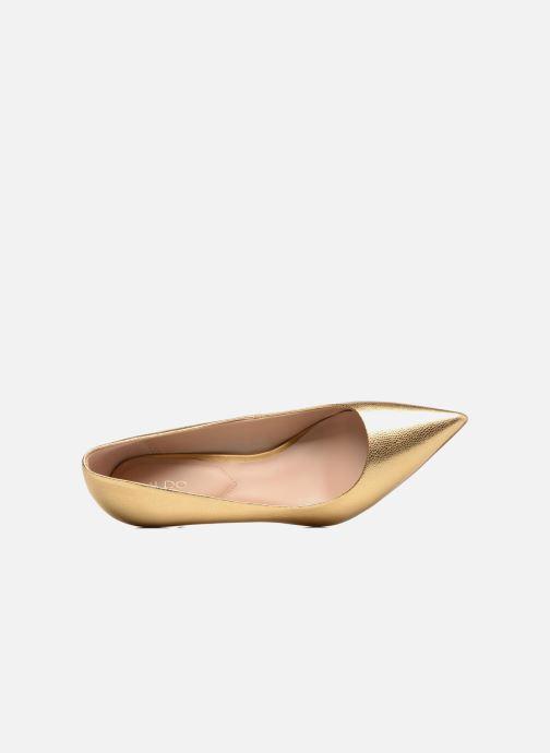 Zapatos de tacón Aldo HARLY Oro y bronce vista lateral izquierda