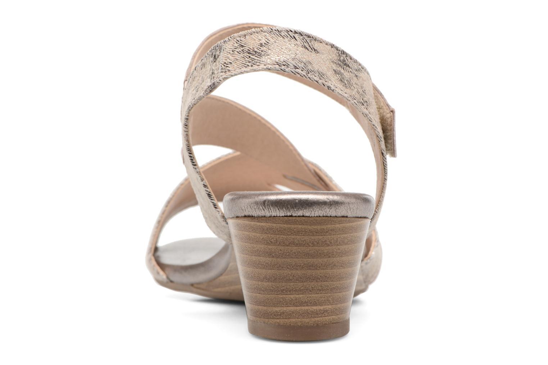 Sandales et nu-pieds Caprice Arielle 2 Rose vue droite