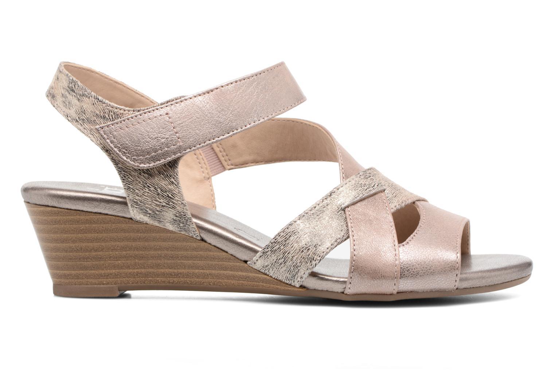 Sandales et nu-pieds Caprice Arielle 2 Rose vue derrière