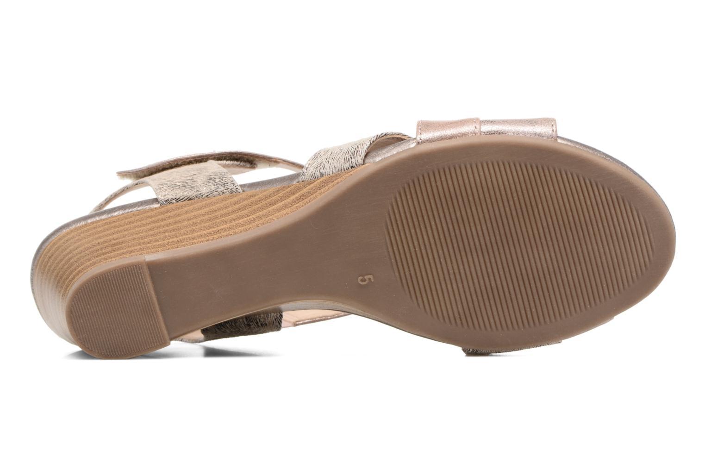 Sandales et nu-pieds Caprice Arielle 2 Rose vue haut
