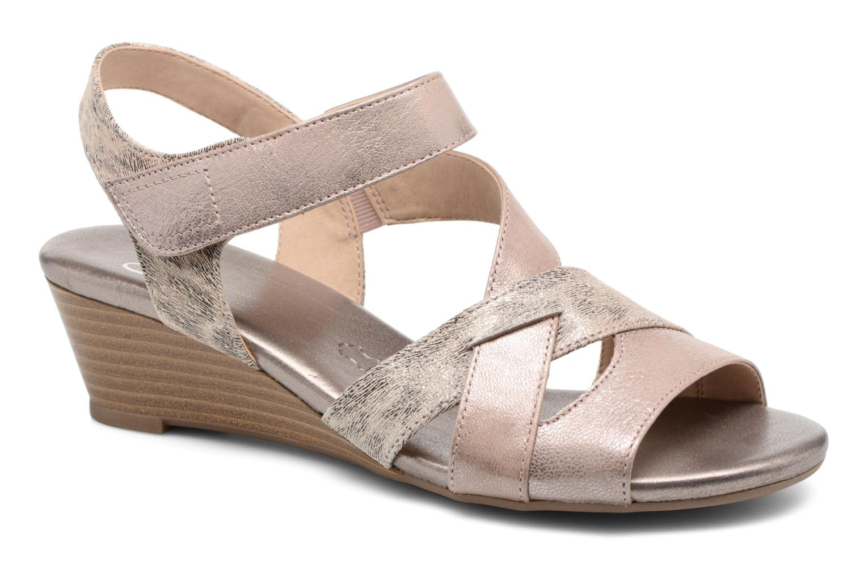 Sandales et nu-pieds Caprice Arielle 2 Rose vue détail/paire