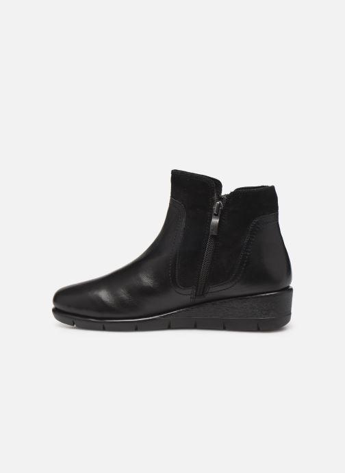 Bottines et boots Caprice Cynthia Noir vue face