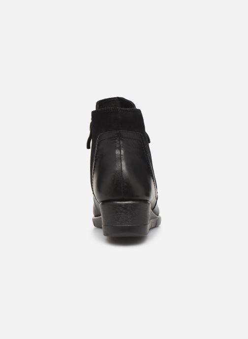 Bottines et boots Caprice Cynthia Noir vue droite