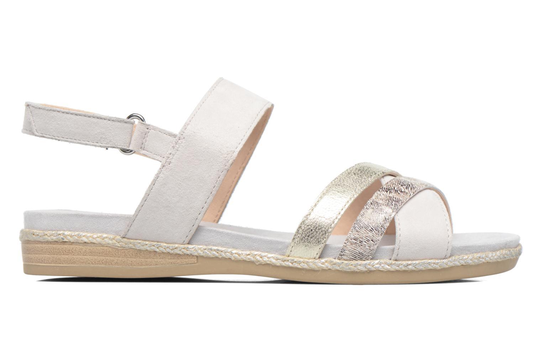 Sandali e scarpe aperte Caprice Cynthia Bianco immagine posteriore