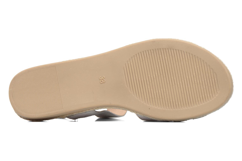 Sandali e scarpe aperte Caprice Cynthia Bianco immagine dall'alto