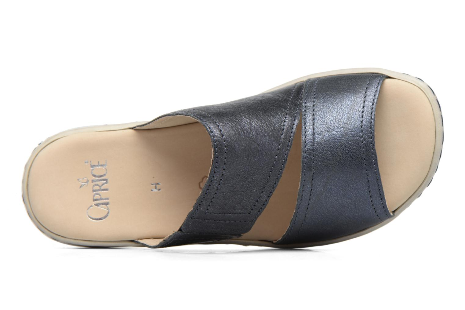 Mules & clogs Caprice Edda Blue view from the left