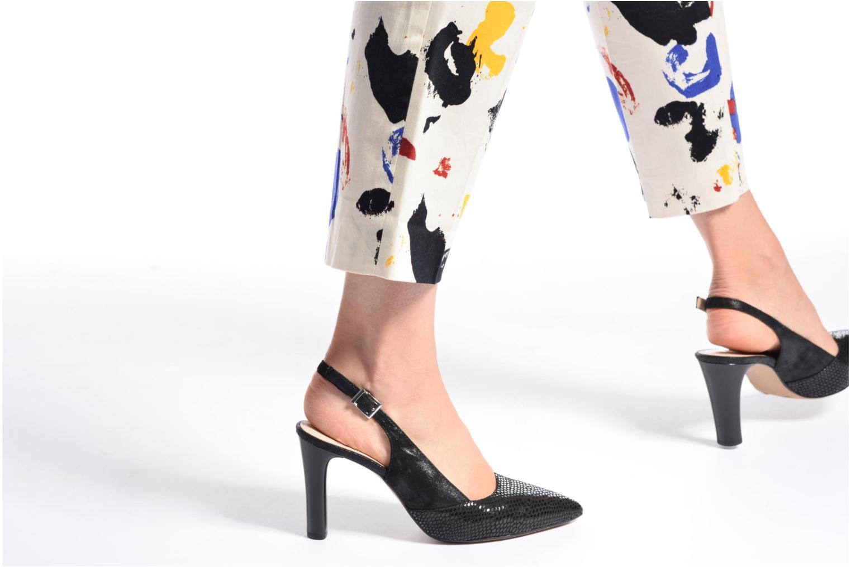 Zapatos de tacón Caprice Effi Negro vista de abajo