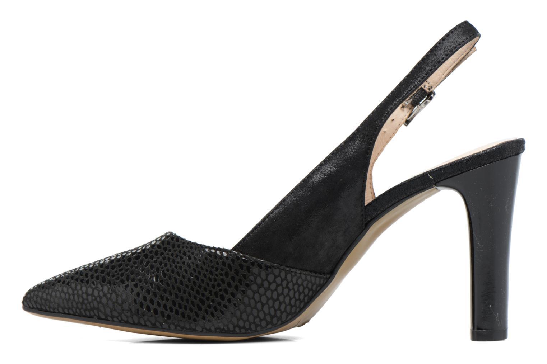 Zapatos de tacón Caprice Effi Negro vista de frente