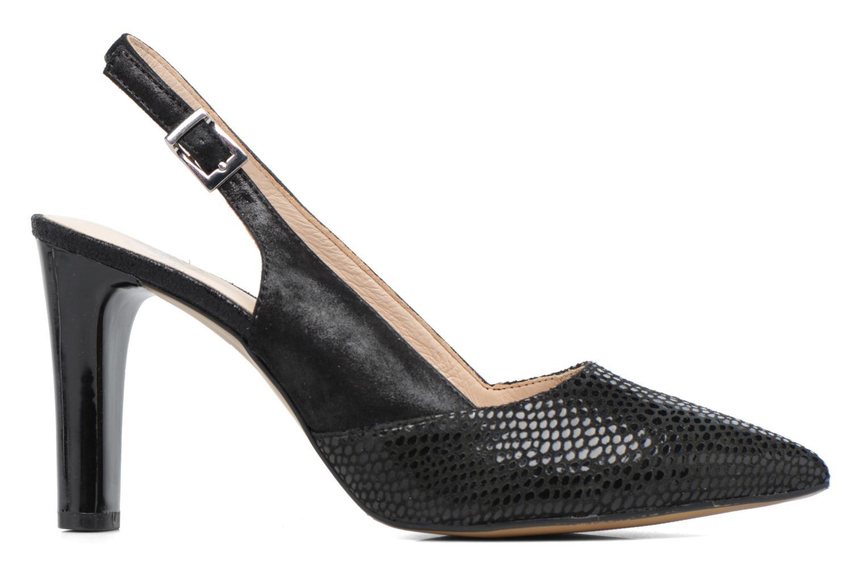Zapatos de tacón Caprice Effi Negro vistra trasera