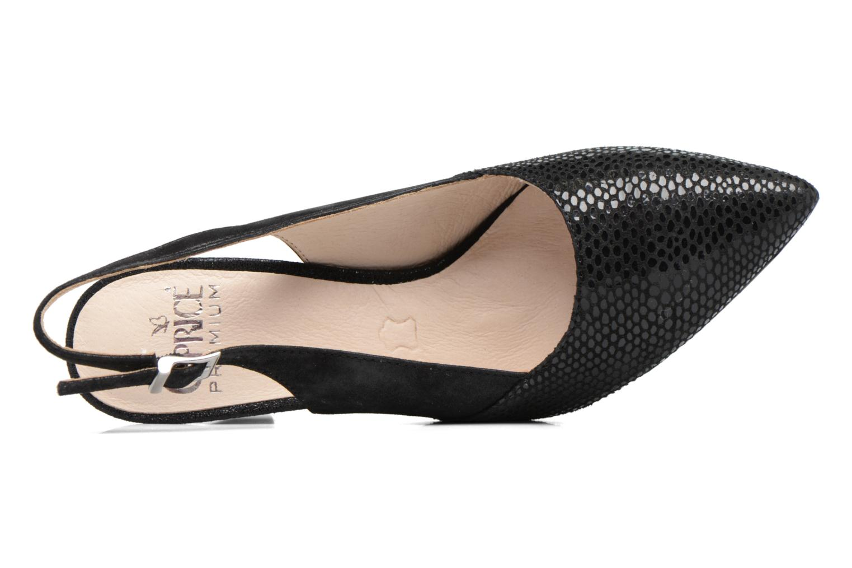 Zapatos de tacón Caprice Effi Negro vista lateral izquierda